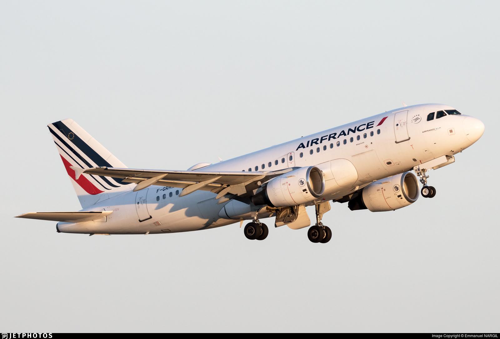 F-GRHX - Airbus A319-111 - Air France