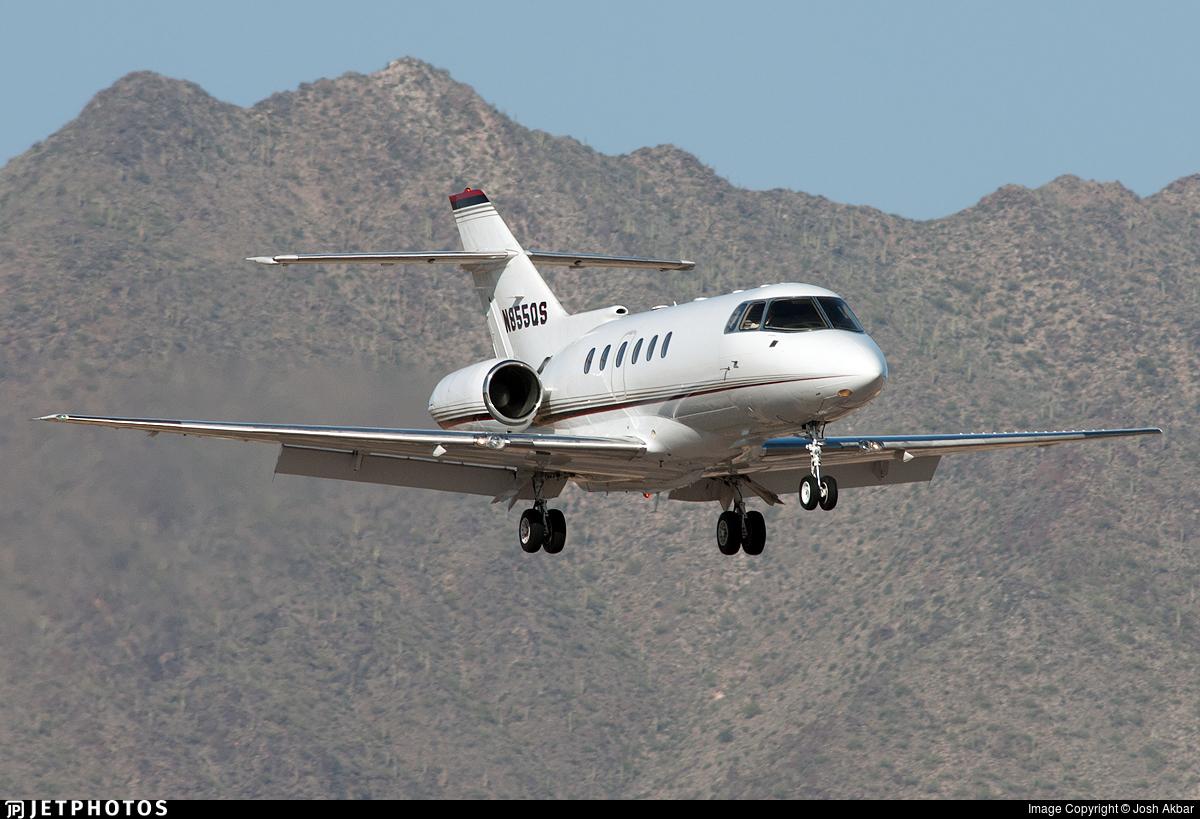 N855QS - Raytheon Hawker 800XP - NetJets Aviation