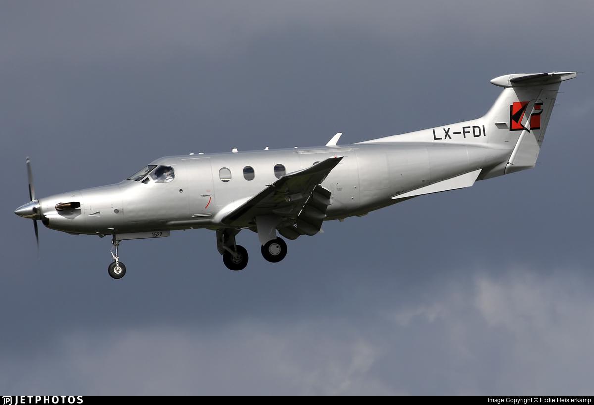 LX-FDI - Pilatus PC-12/47E - Private