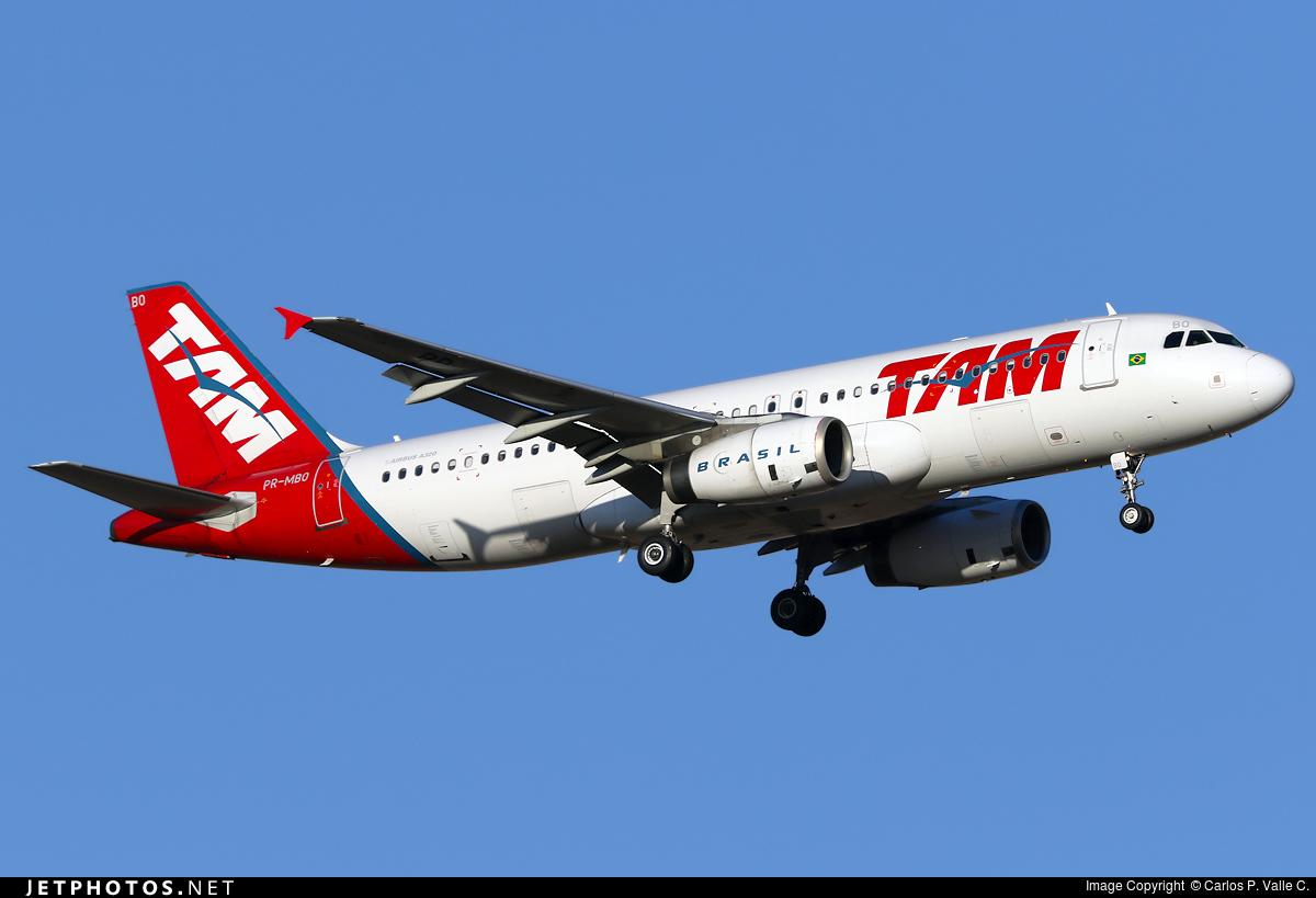 PR-MBO - Airbus A320-232 - TAM Linhas Aéreas