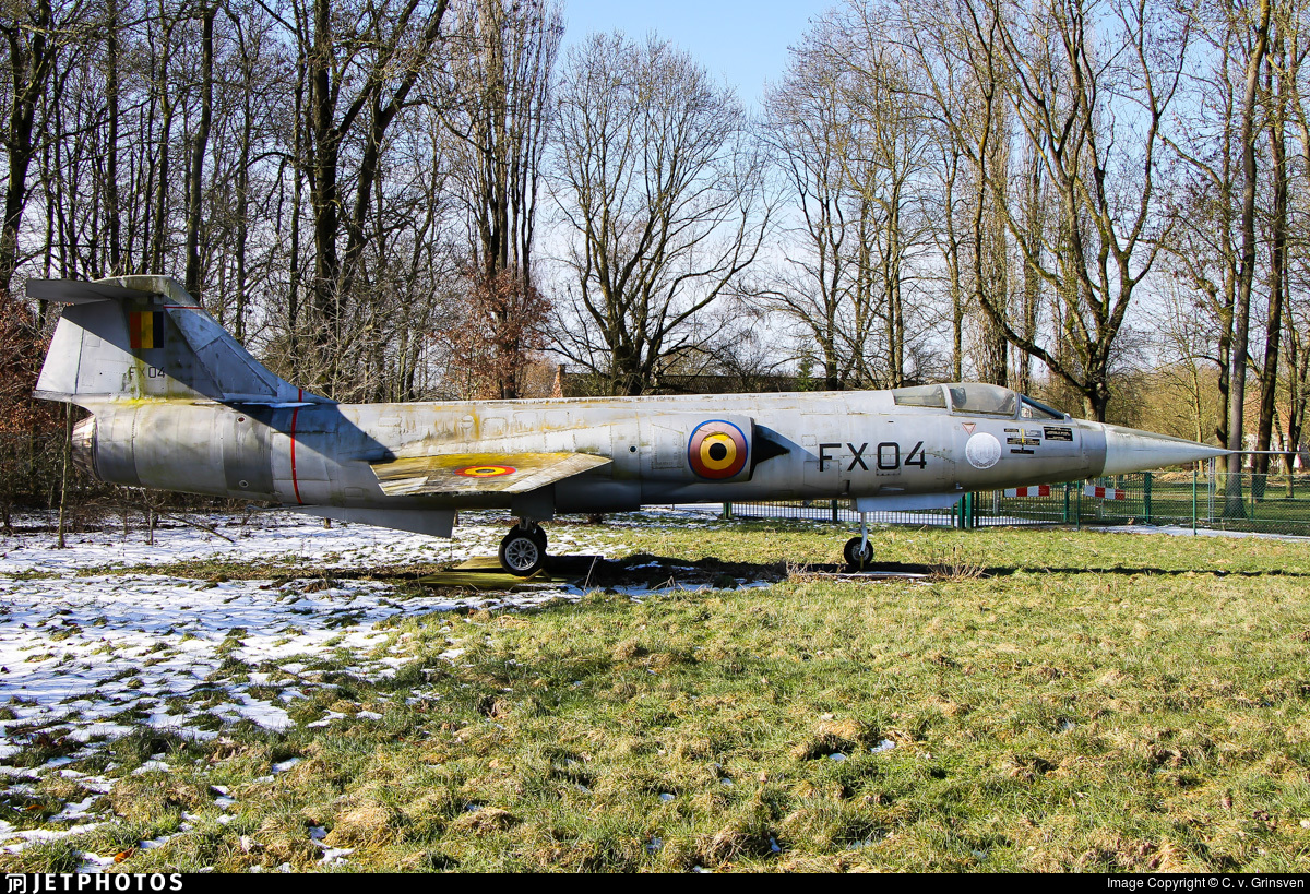 FX-04 - Lockheed F-104G Starfighter - Belgium - Air Force