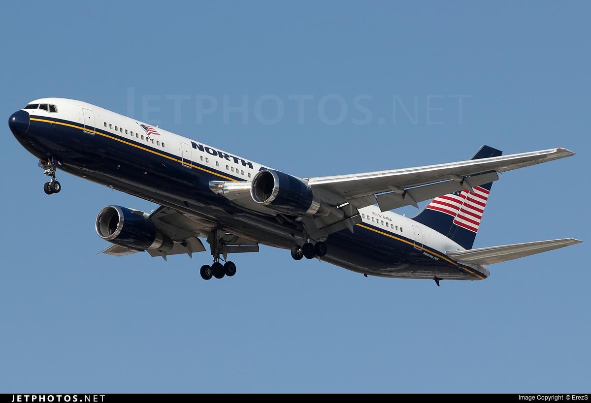 N764NA - Boeing 767-328(ER) - North American Airlines