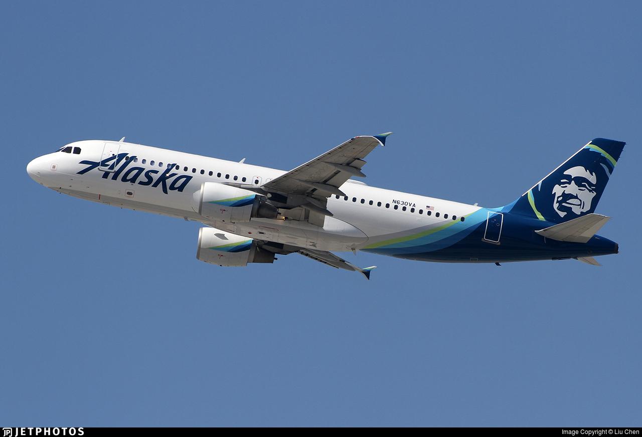 N630VA - Airbus A320-214 - Alaska Airlines