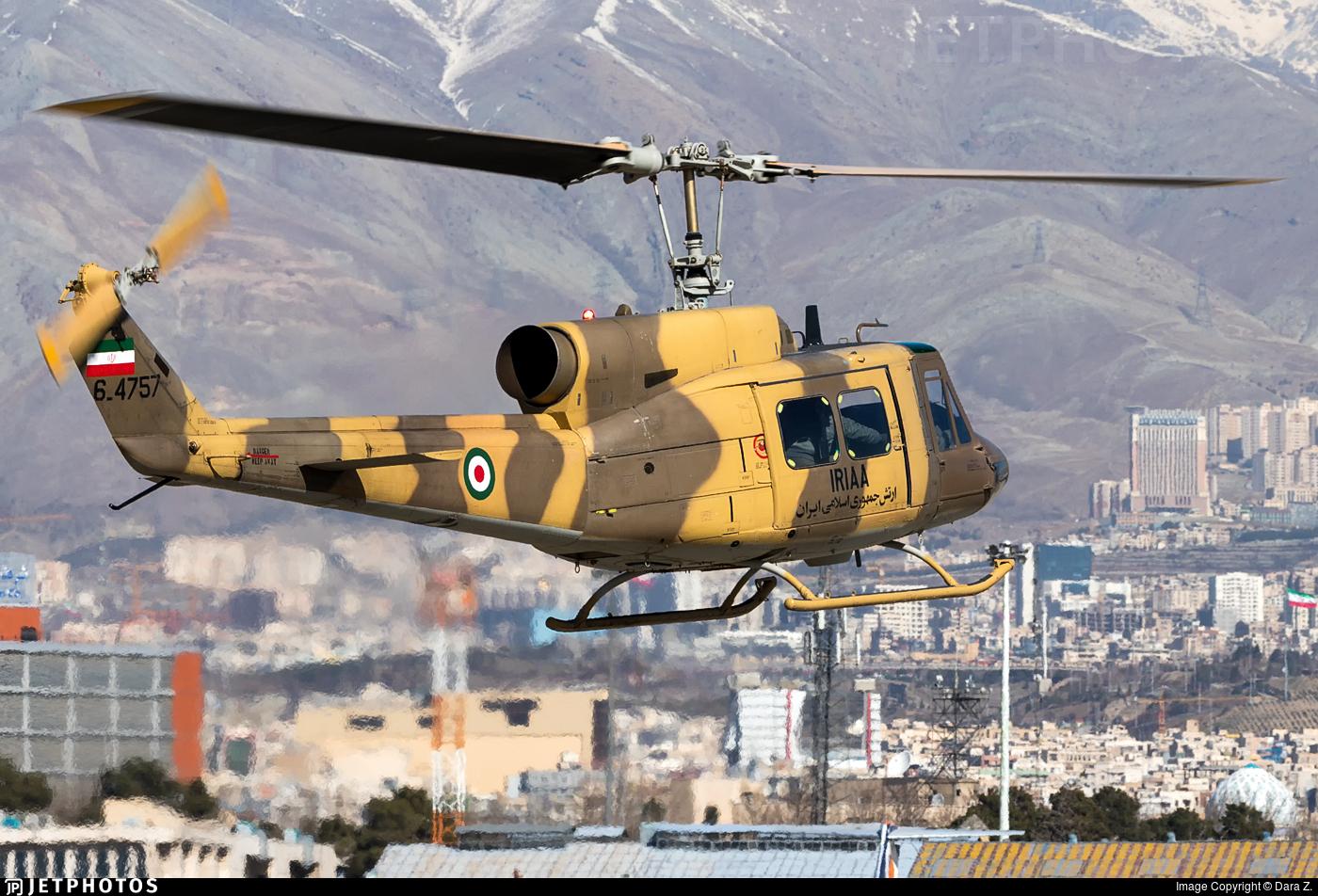 6-4757 | Bell 214A Isfahan | Iran - Army | Dara Z. | JetPhotos