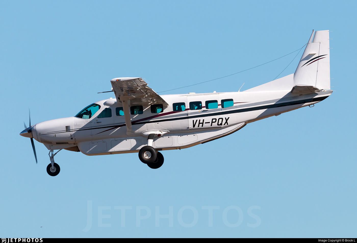 VH-PQX - Cessna 208B Grand Caravan - Australia - Queensland Government