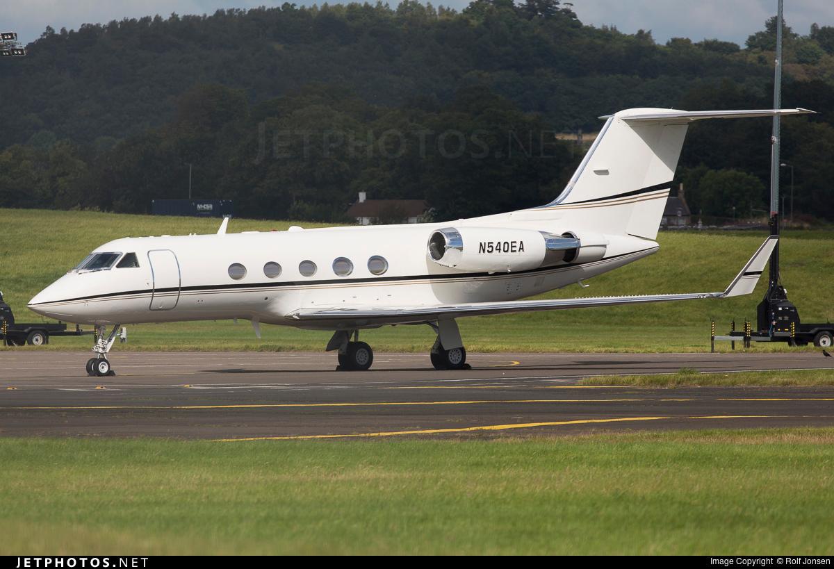N540EA - Gulfstream G-II(SP) - JetMark Aviation