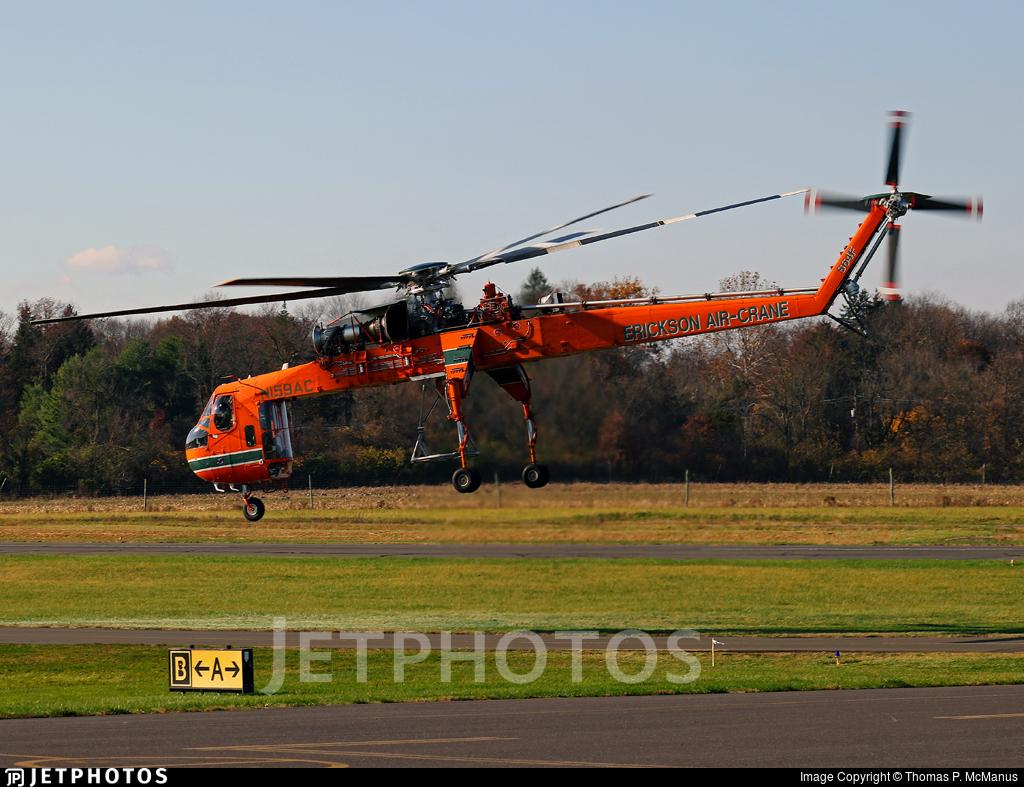 N159AC - Sikorsky S-64F Helitanker - Erickson Air-Crane