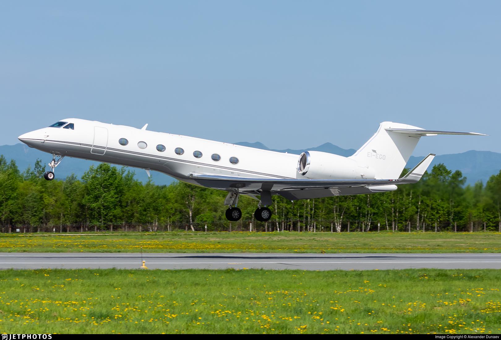 EI-EGO - Gulfstream G550 - Private
