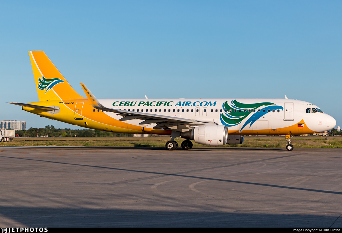 RP-C3272 - Airbus A320-214 - Cebu Pacific Air