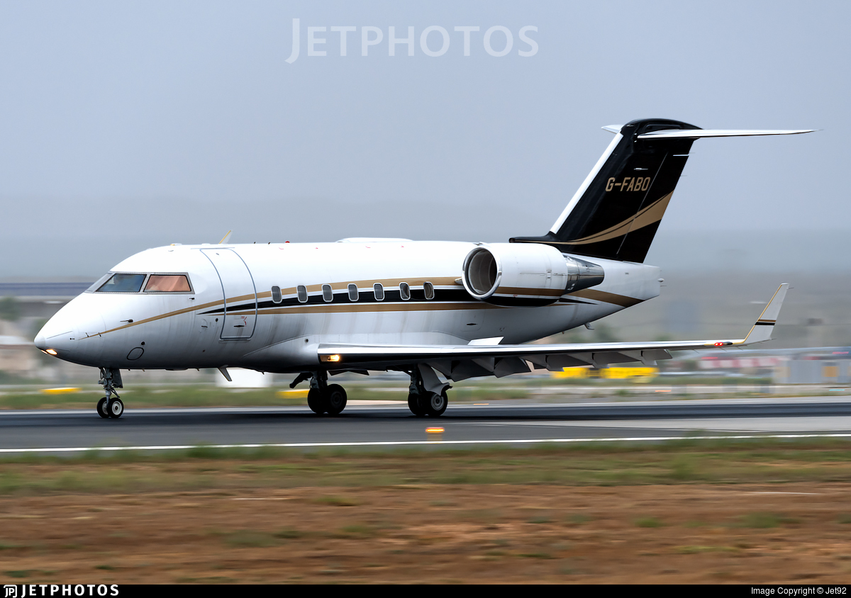 G-FABO - Bombardier CL-600-2B16 Challenger 604 - Gama Aviation