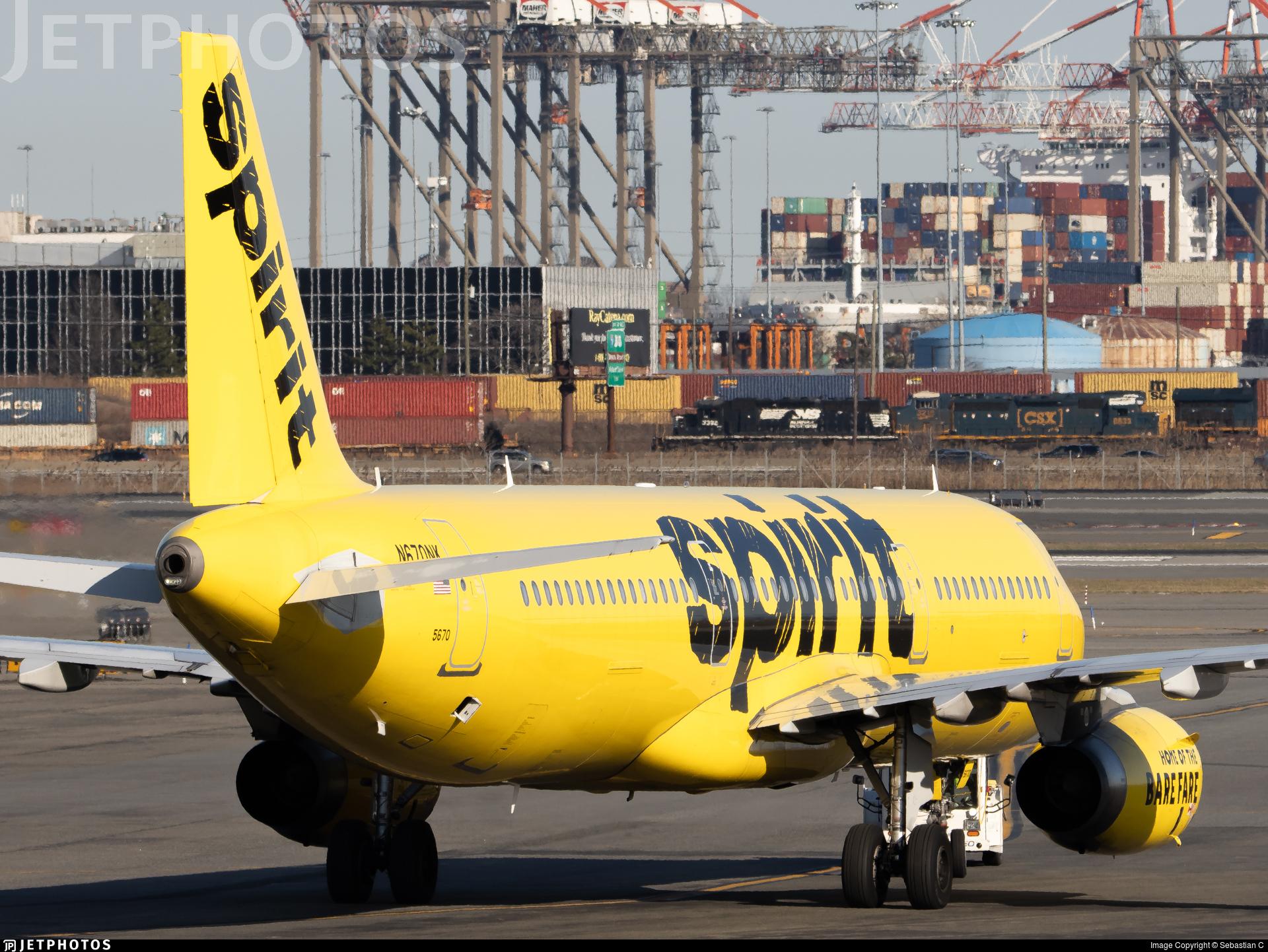 N670NK - Airbus A321-231 - Spirit Airlines