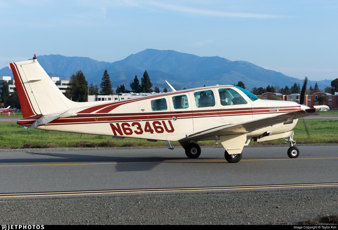 N6346U - Beechcraft B36TC Bonanza - Private