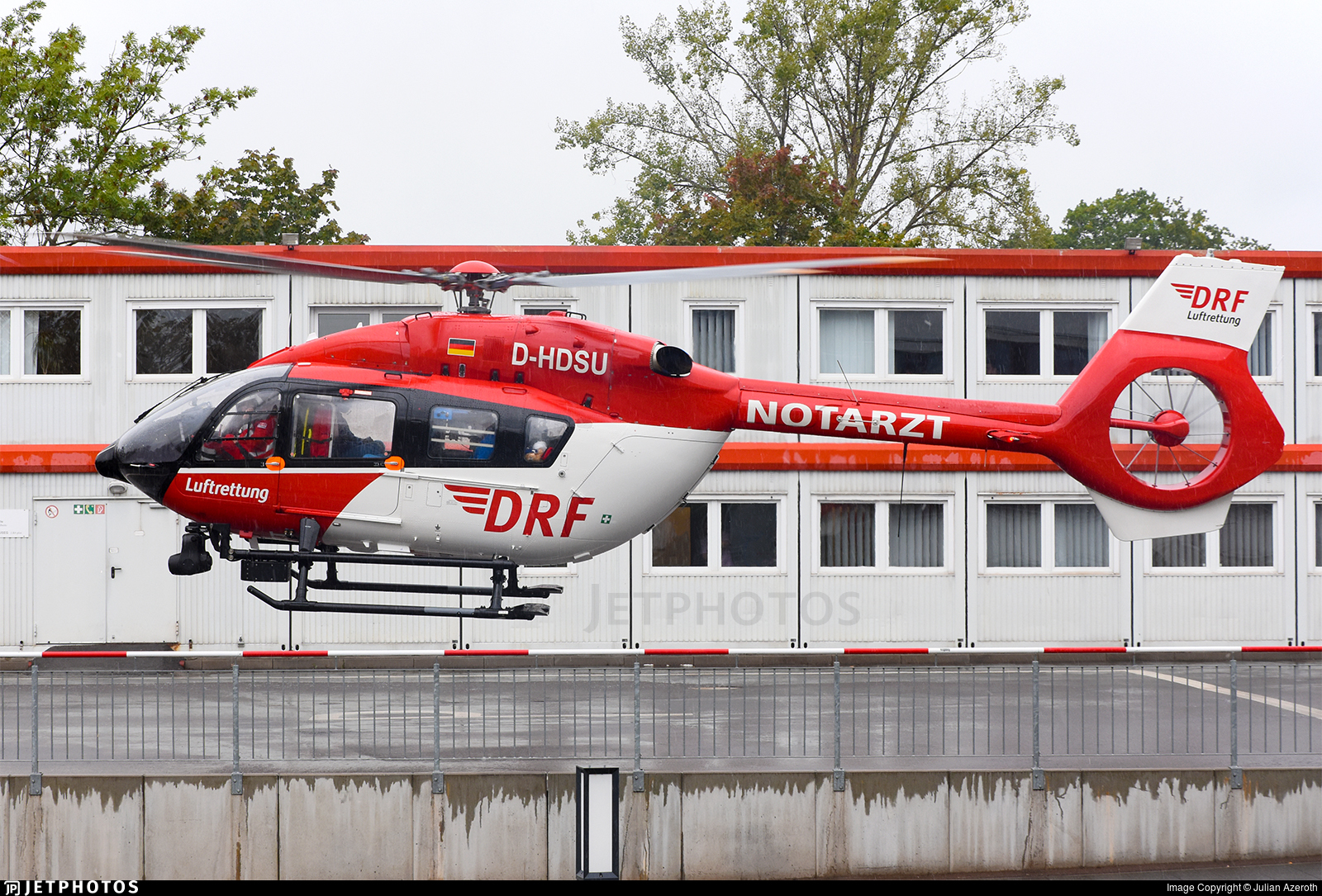 D-HDSU - Airbus Helicopters H145 - DRF Luftrettung