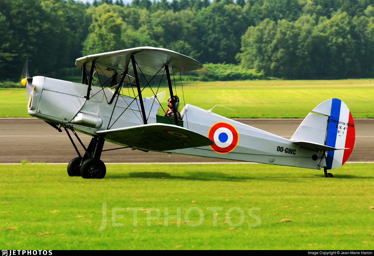 OO-GWC - SNCAN/Stampe SV.4C - Private