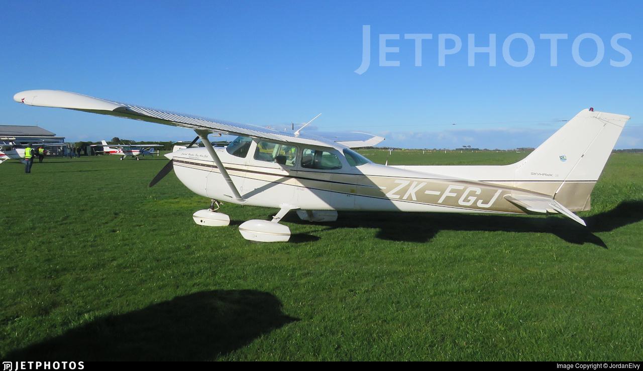 ZK-FGJ - Cessna 172P Skyhawk II - Aero Club - Central Hawkes Bay