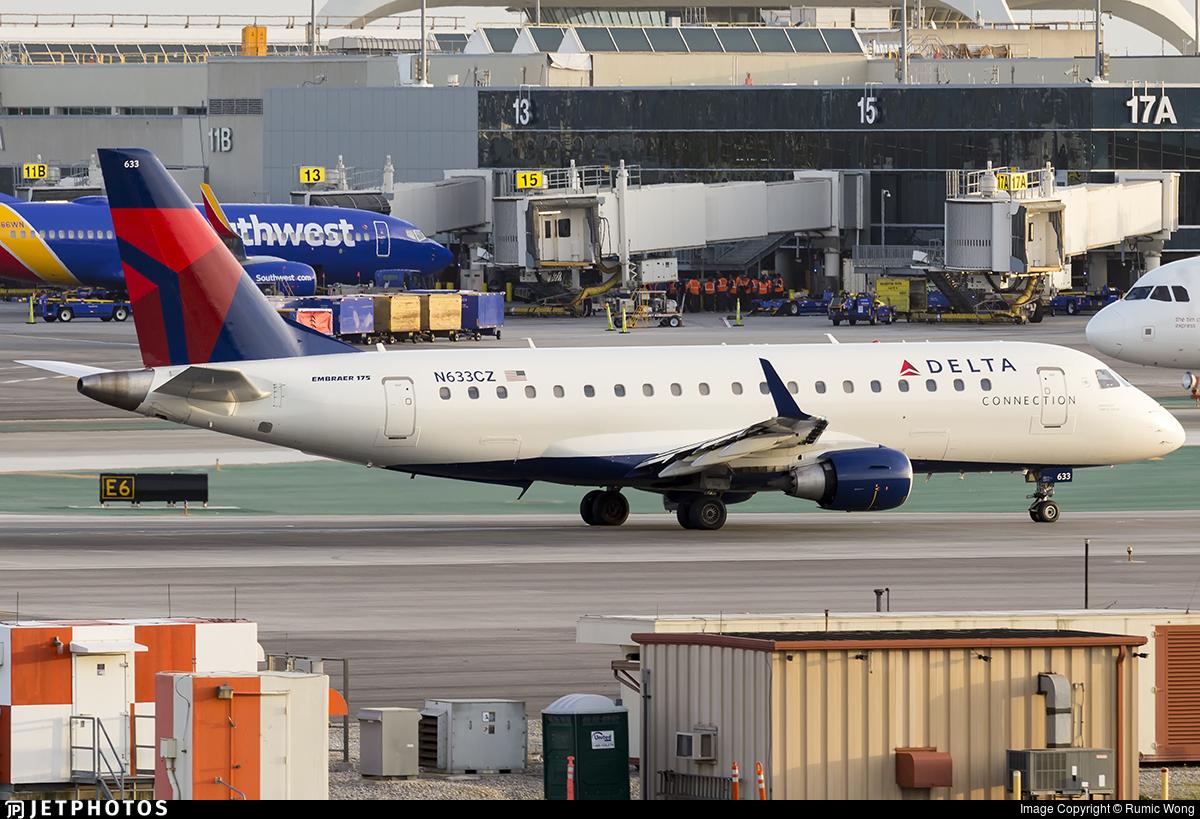 N633CZ - Embraer 170-200LR - Delta Connection (Compass Airlines)