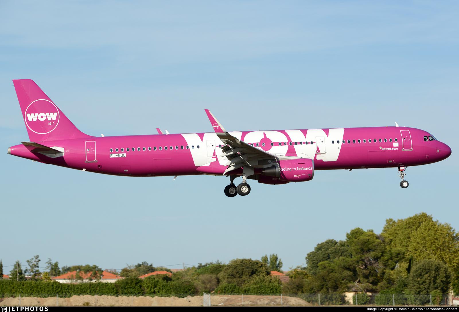 EI-GOL - Airbus A321-211 - WOW Air