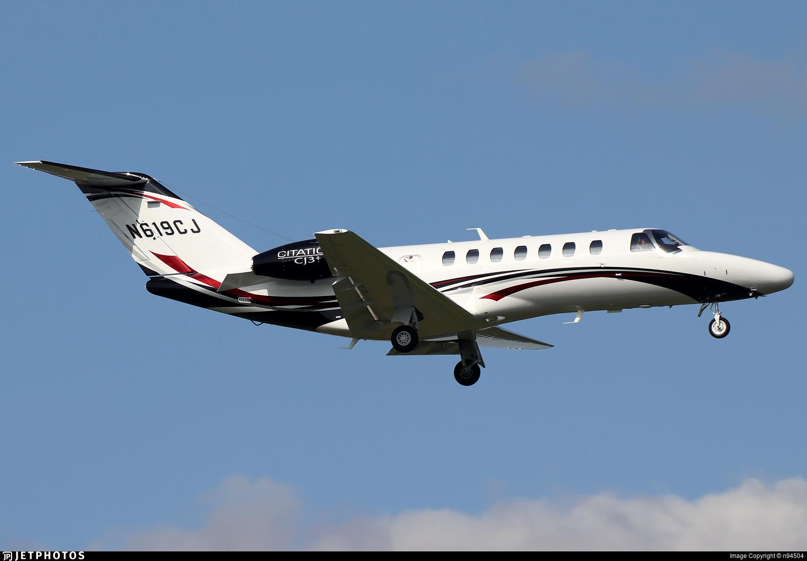 N619CJ - Cessna 525B CitationJet CJ3+ - Private