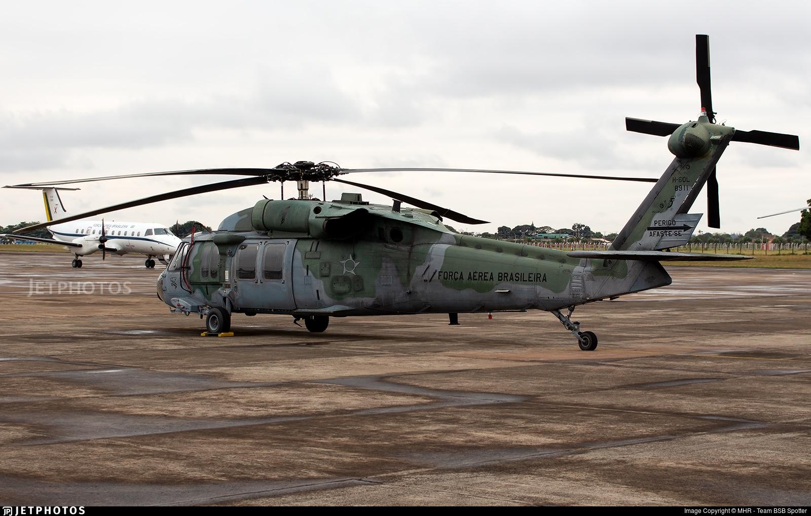 FAB8911 - Sikorsky H-60L Blackhawk - Brazil - Air Force