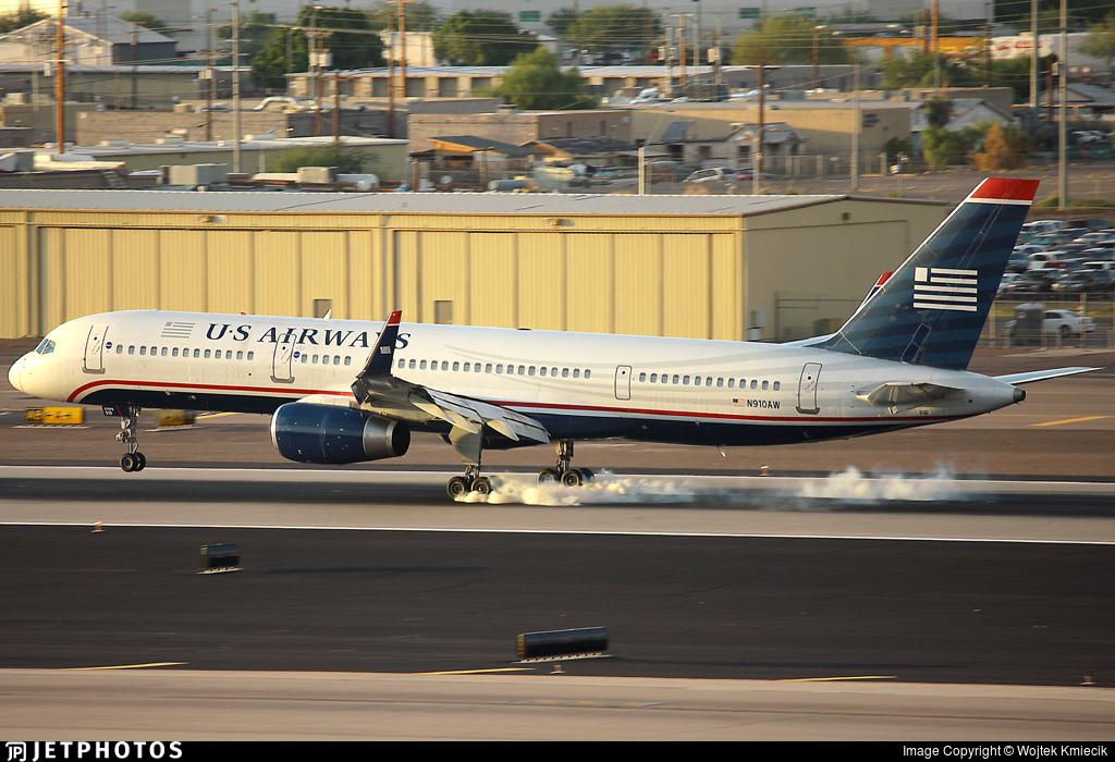 N910AW - Boeing 757-2G7 - US Airways