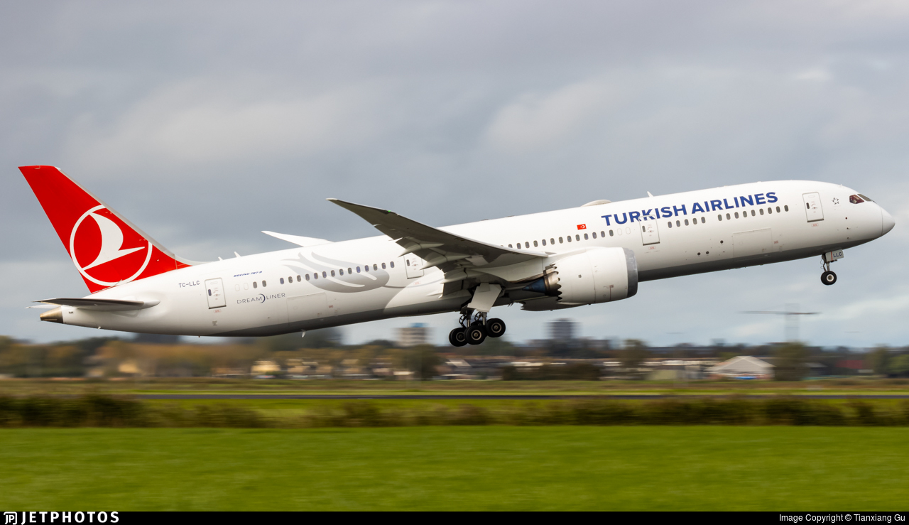 TC-LLC - Boeing 787-9 Dreamliner - Turkish Airlines