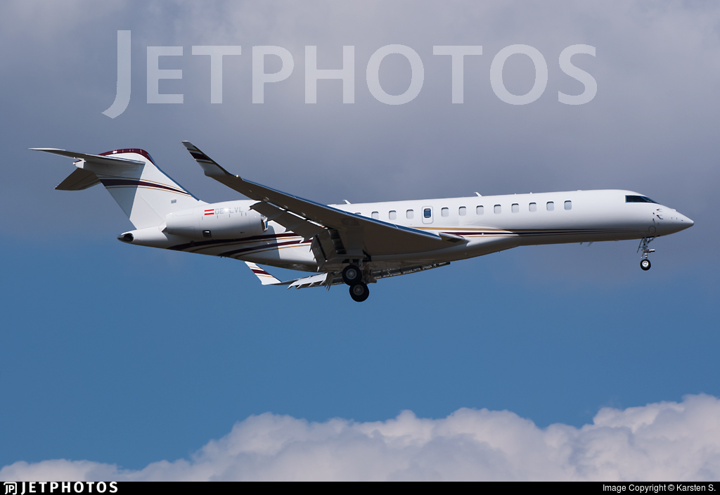 OE-LVL - Bombardier BD-700-2A12 Global 7500  - Private