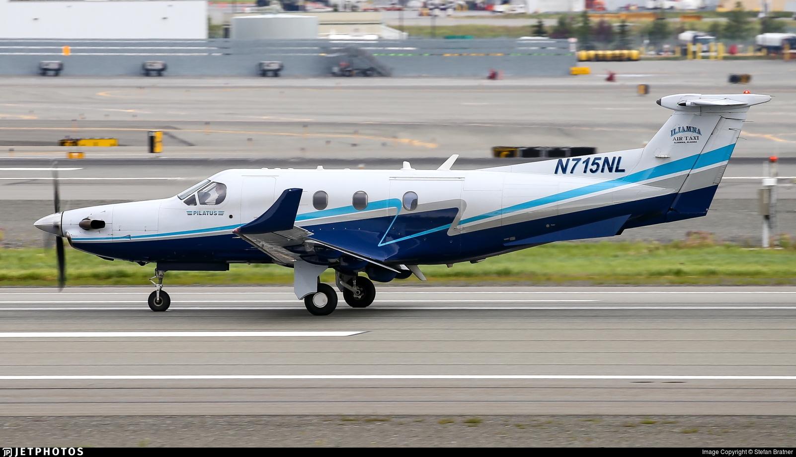 N715NL - Pilatus PC-12/45 - Iliamna Air Taxi