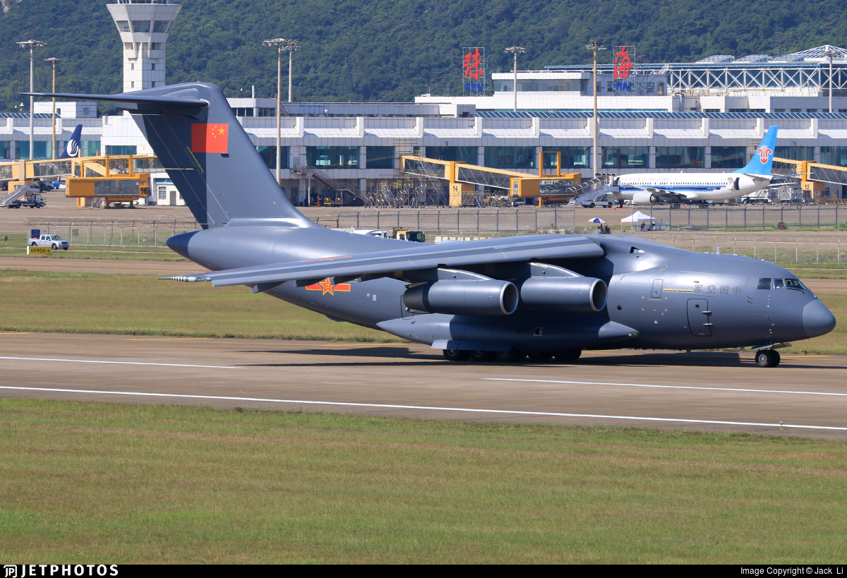 The third serial military transport aircraft Xian Y-20 in Zhuhai and many more interesting 64