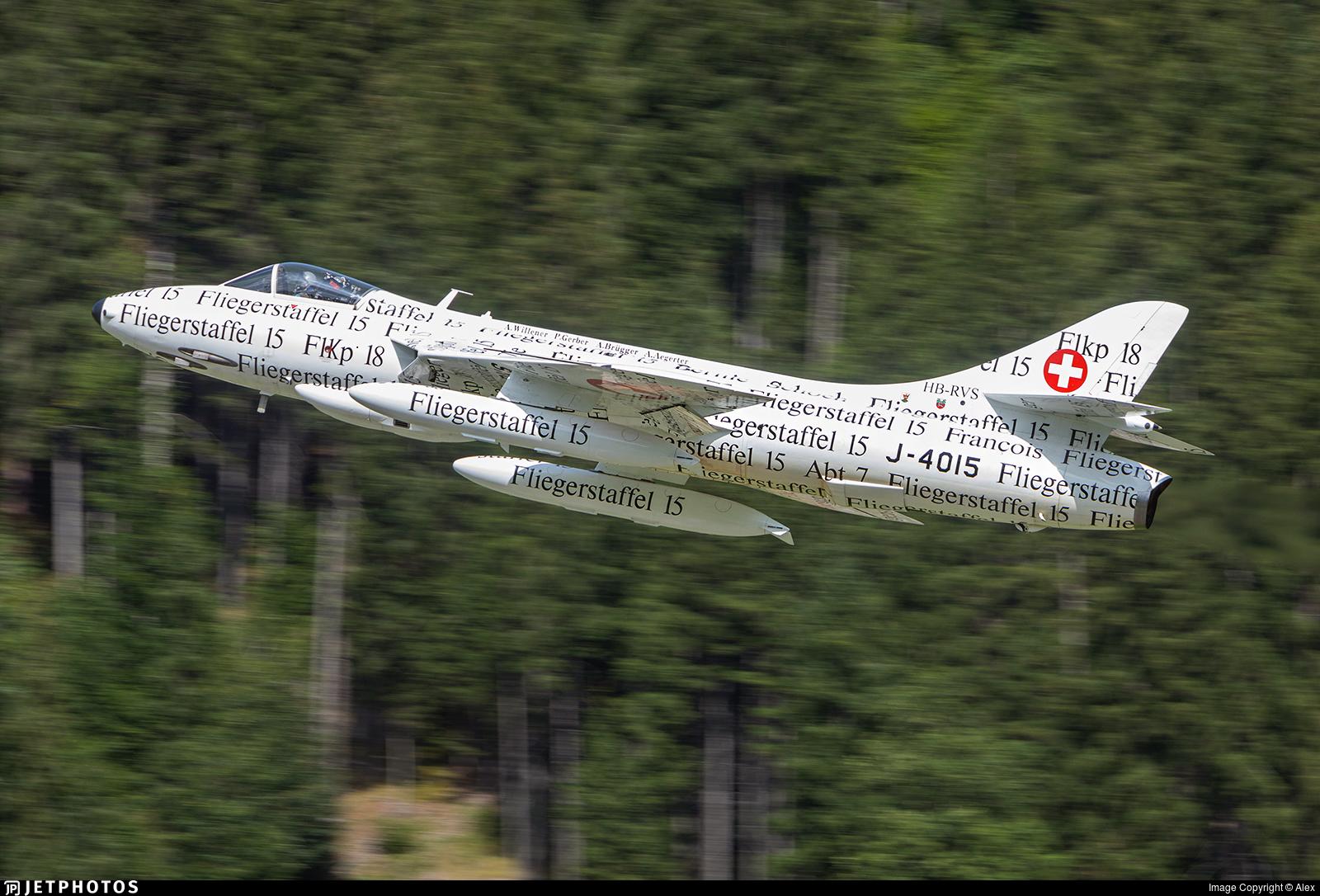 HB-RVS - Hawker Hunter F.58 - Hunterverein Obersimmental