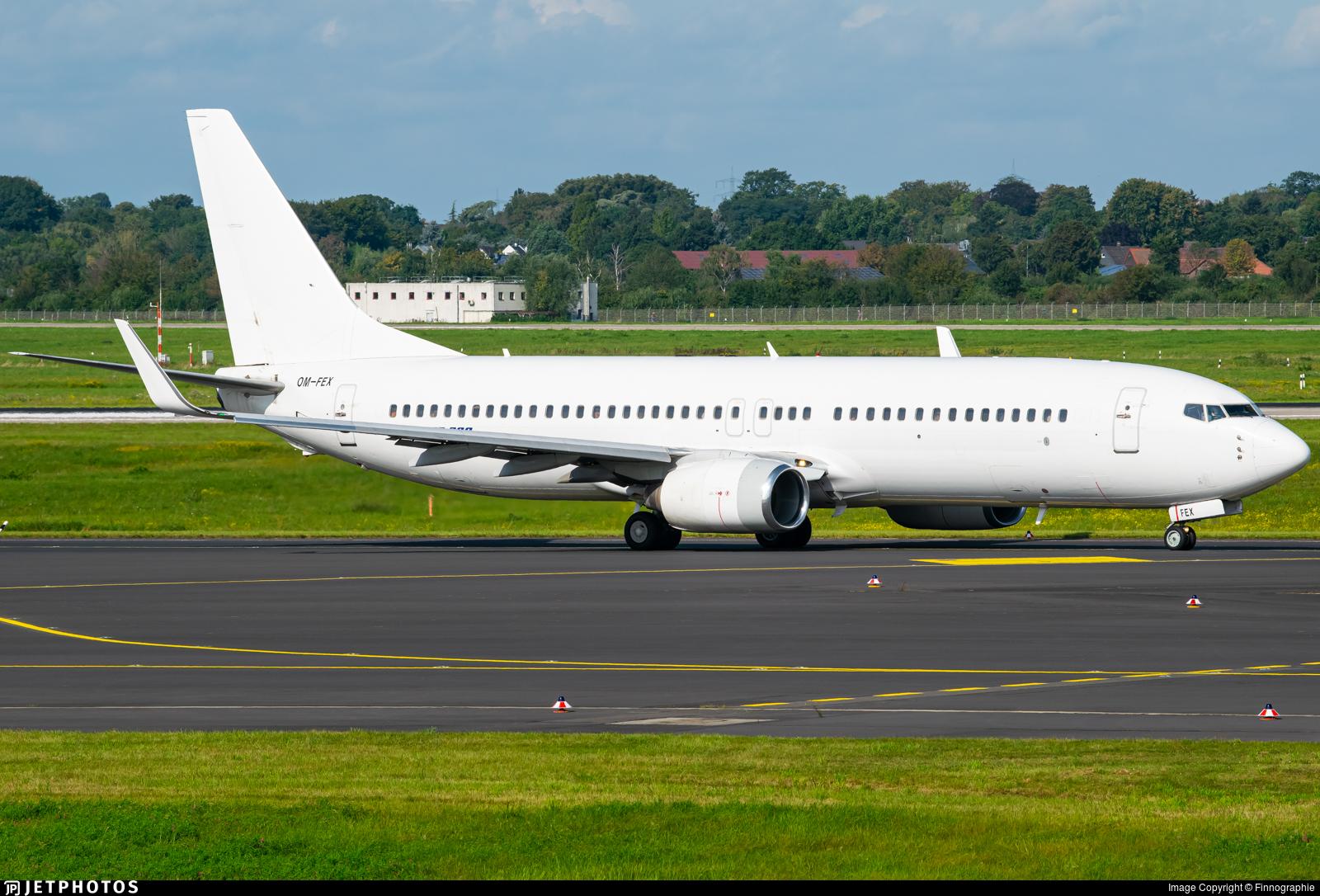 OM-FEX - Boeing 737-8Q8 - Air Explore