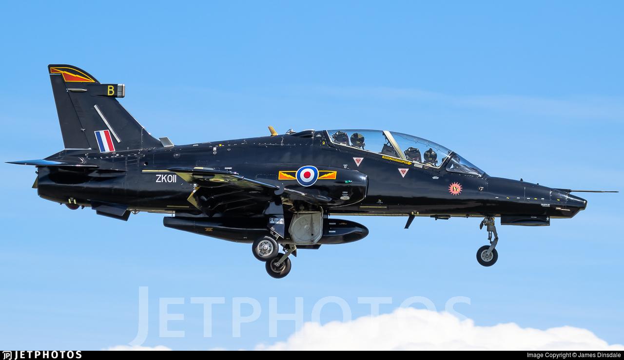 ZK011 - British Aerospace Hawk T.2 - United Kingdom - Royal Air Force (RAF)
