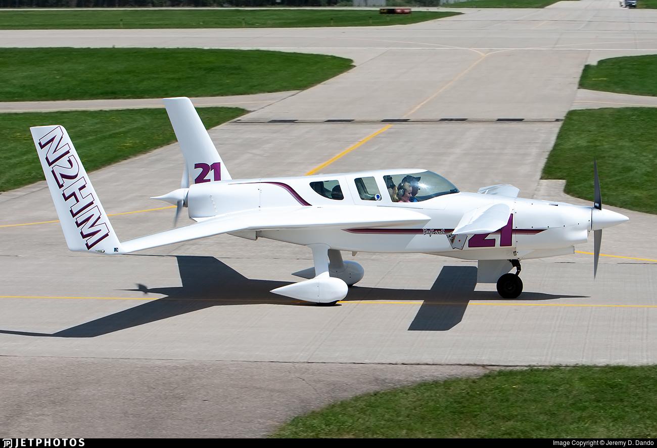 N2HM - Rutan Defiant - Private