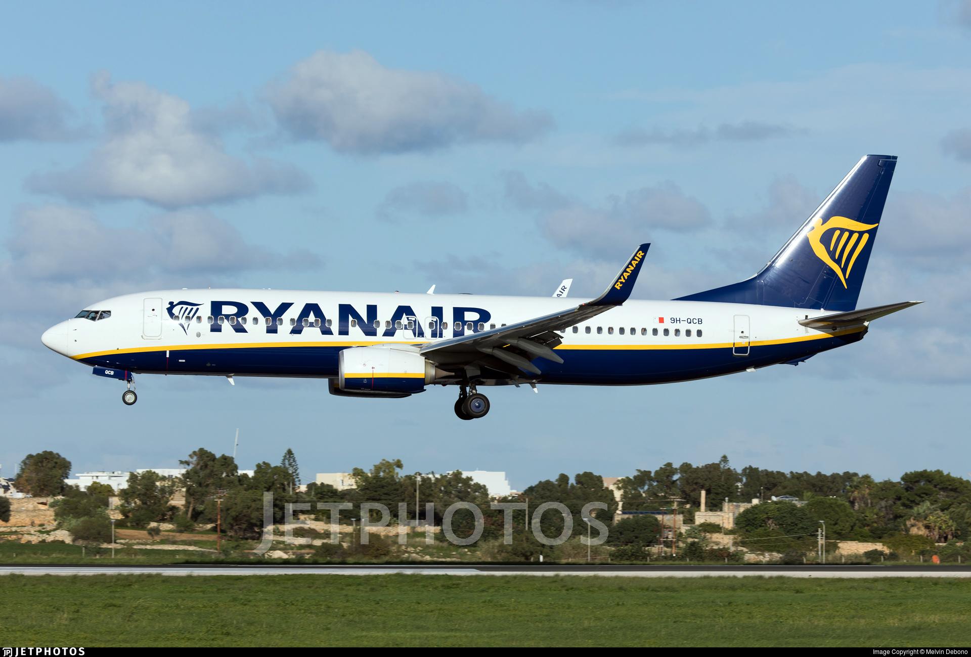 9H-QCB - Boeing 737-8AS - Malta Air (Ryanair)