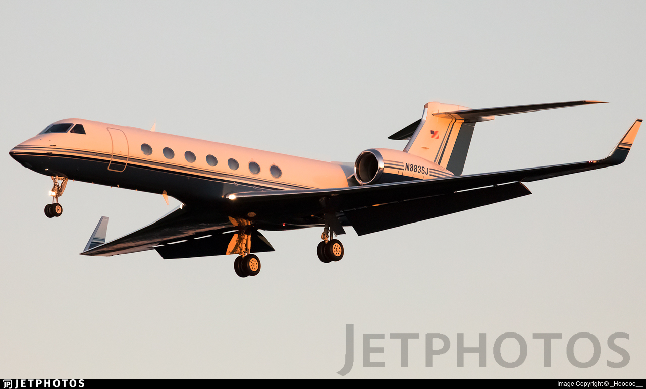 N883SJ  - Gulfstream G550 - Private