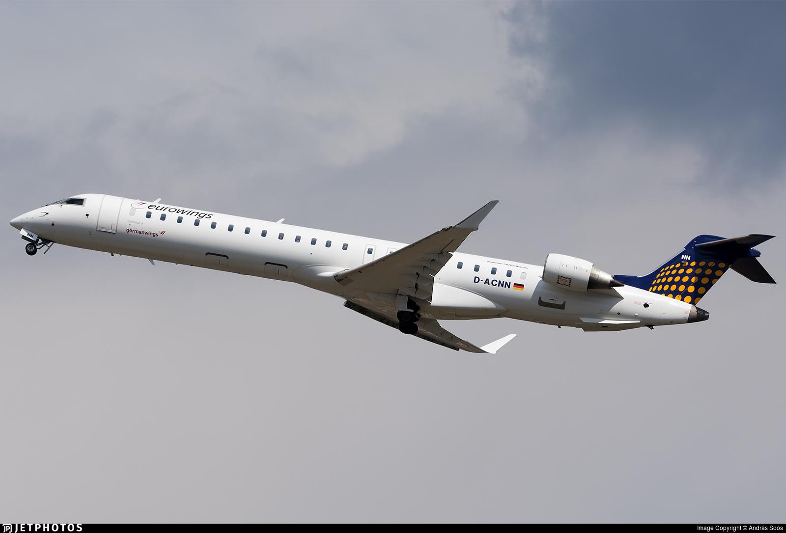 D-ACNN - Bombardier CRJ-900LR - Eurowings
