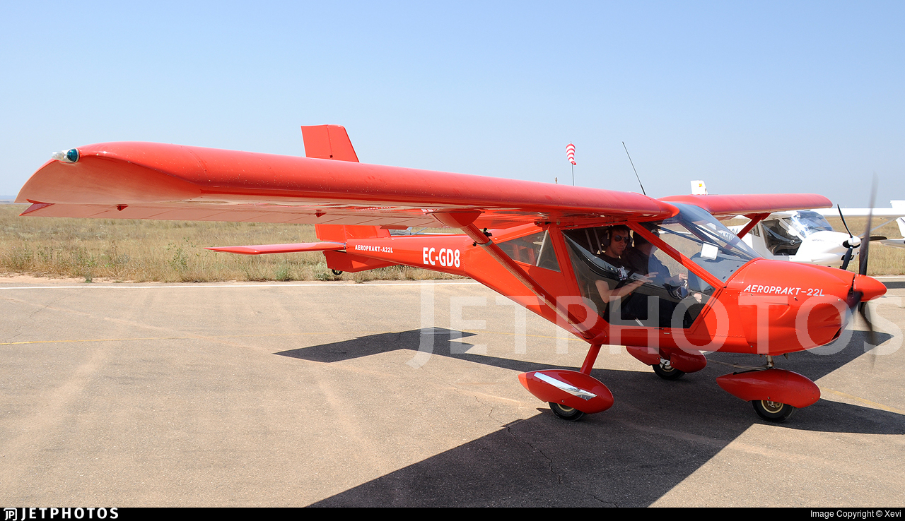 EC-GD8 - Aeroprakt A22L2 Foxbat - Private