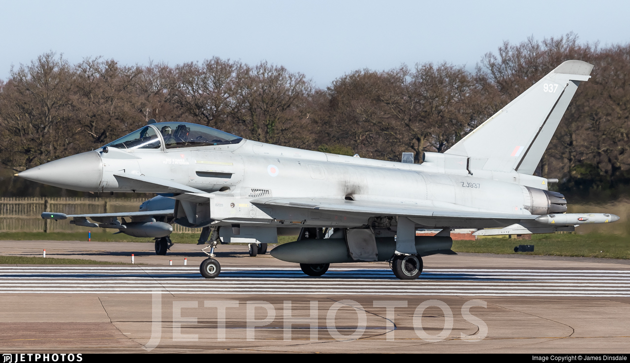ZJ937 - Eurofighter Typhoon FGR.4 - United Kingdom - Royal Air Force (RAF)