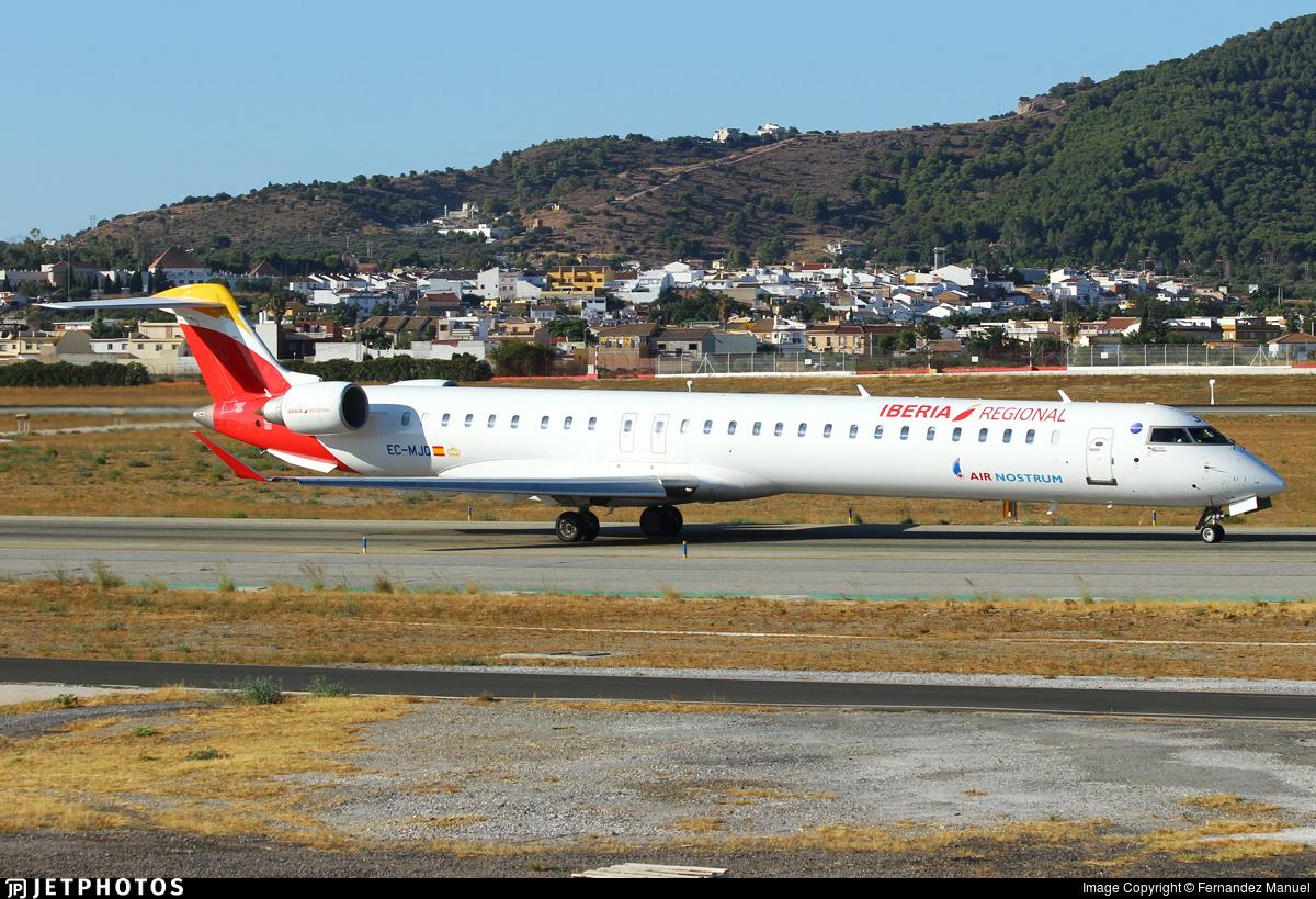 EC-MJQ - Bombardier CRJ-1000 - Iberia Regional (Air Nostrum)