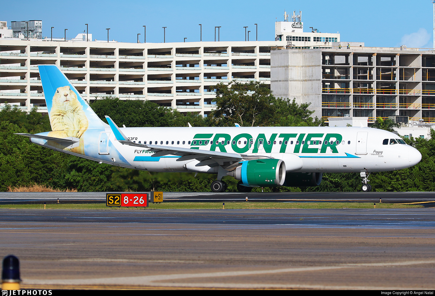 N303FR - Airbus A320-251N - Frontier Airlines