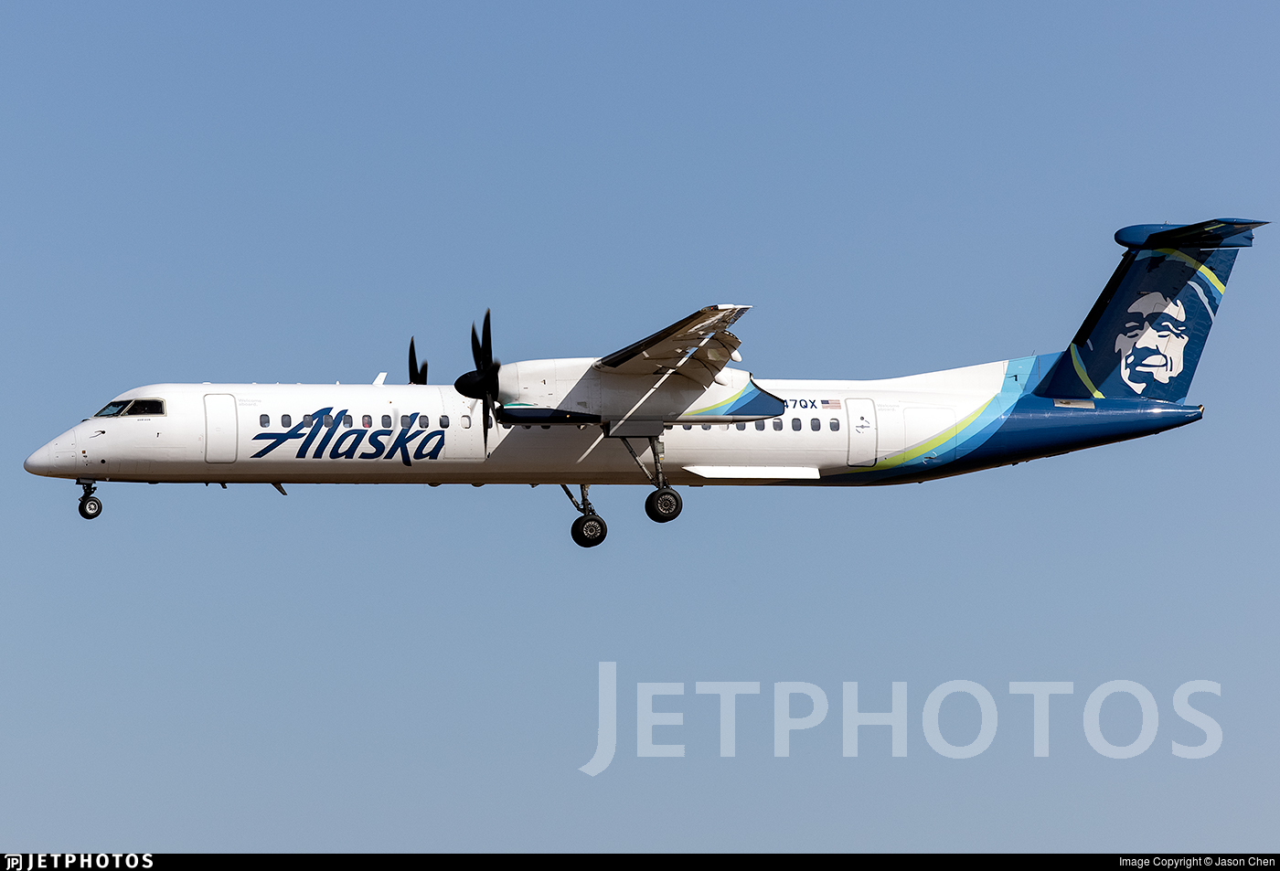 N447QX - Bombardier Dash 8-Q402 - Alaska Airlines (Horizon Air)