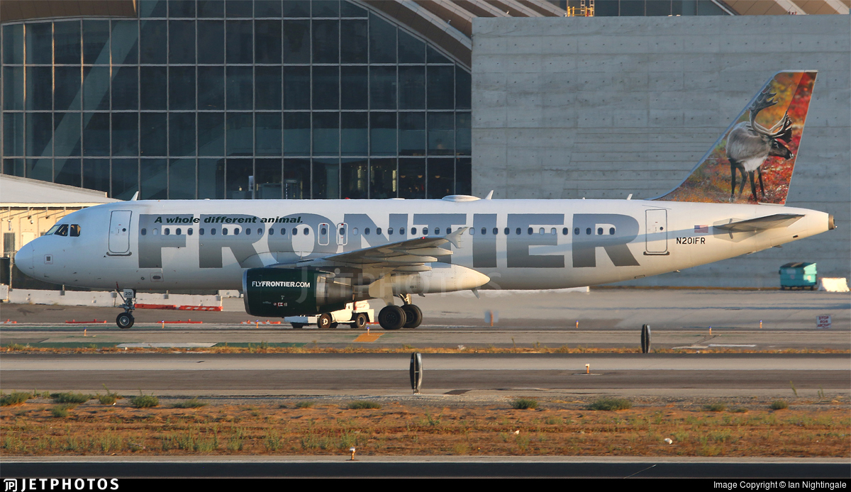 N201FR - Airbus A320-214 - Frontier Airlines