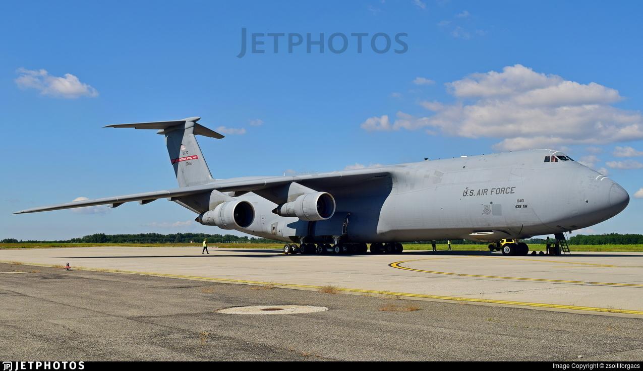 00461 - Lockheed C-5 Galaxy - United States - US Air Force (USAF)