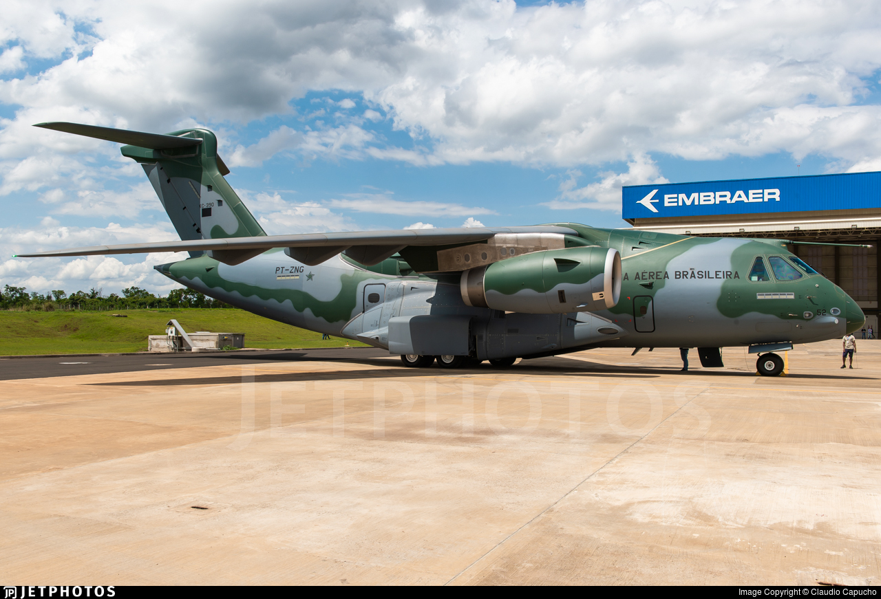 PT-ZNG - Embraer KC-390 - Brazil - Air Force