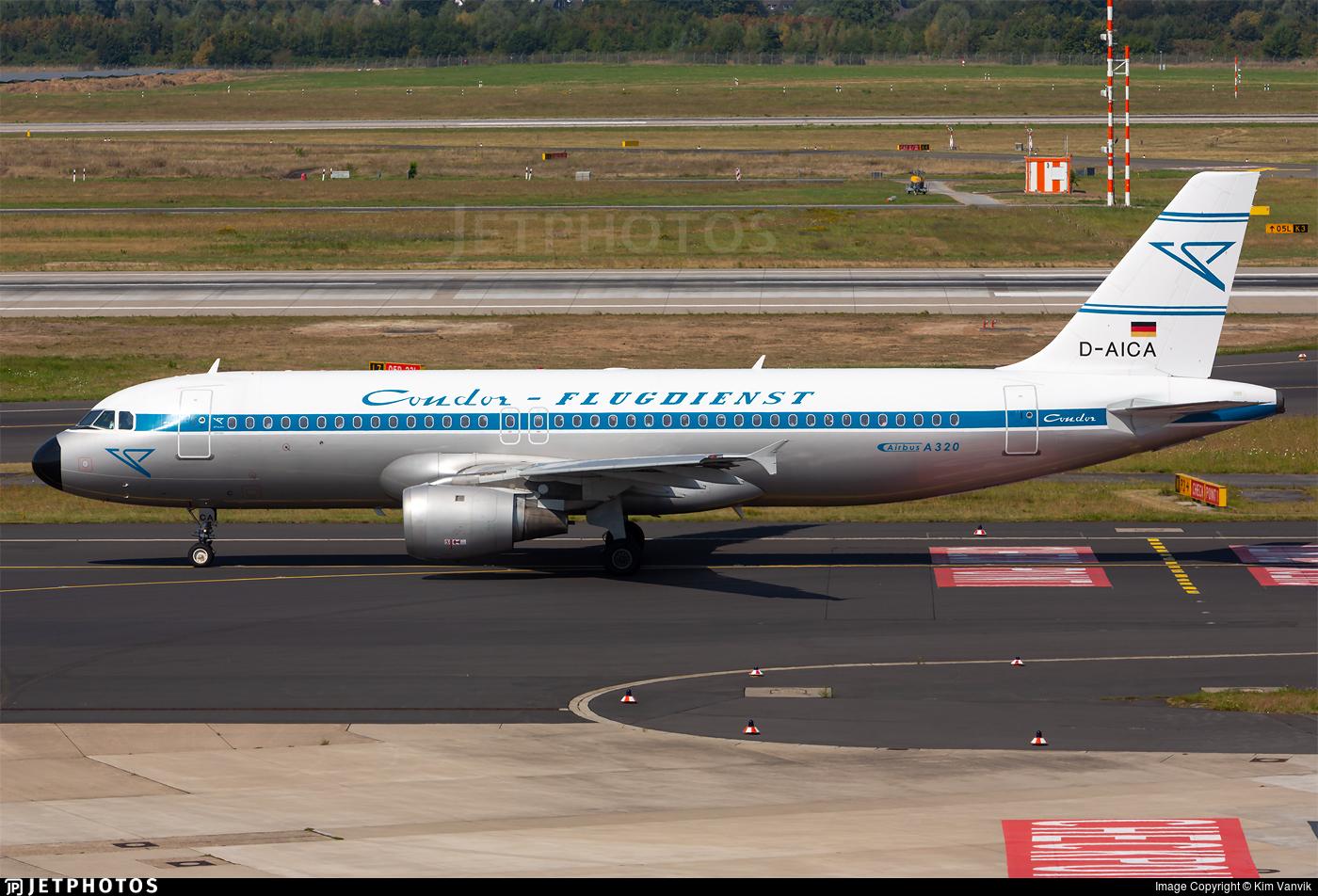 D-AICA - Airbus A320-212 - Lufthansa