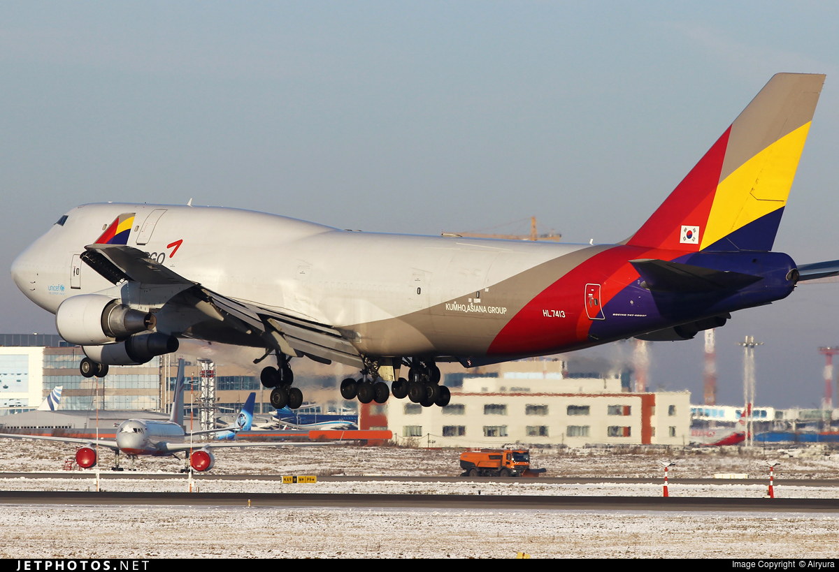 HL7413 | Boeing 747-48E(BDSF) | Asiana Cargo | Airyura ...