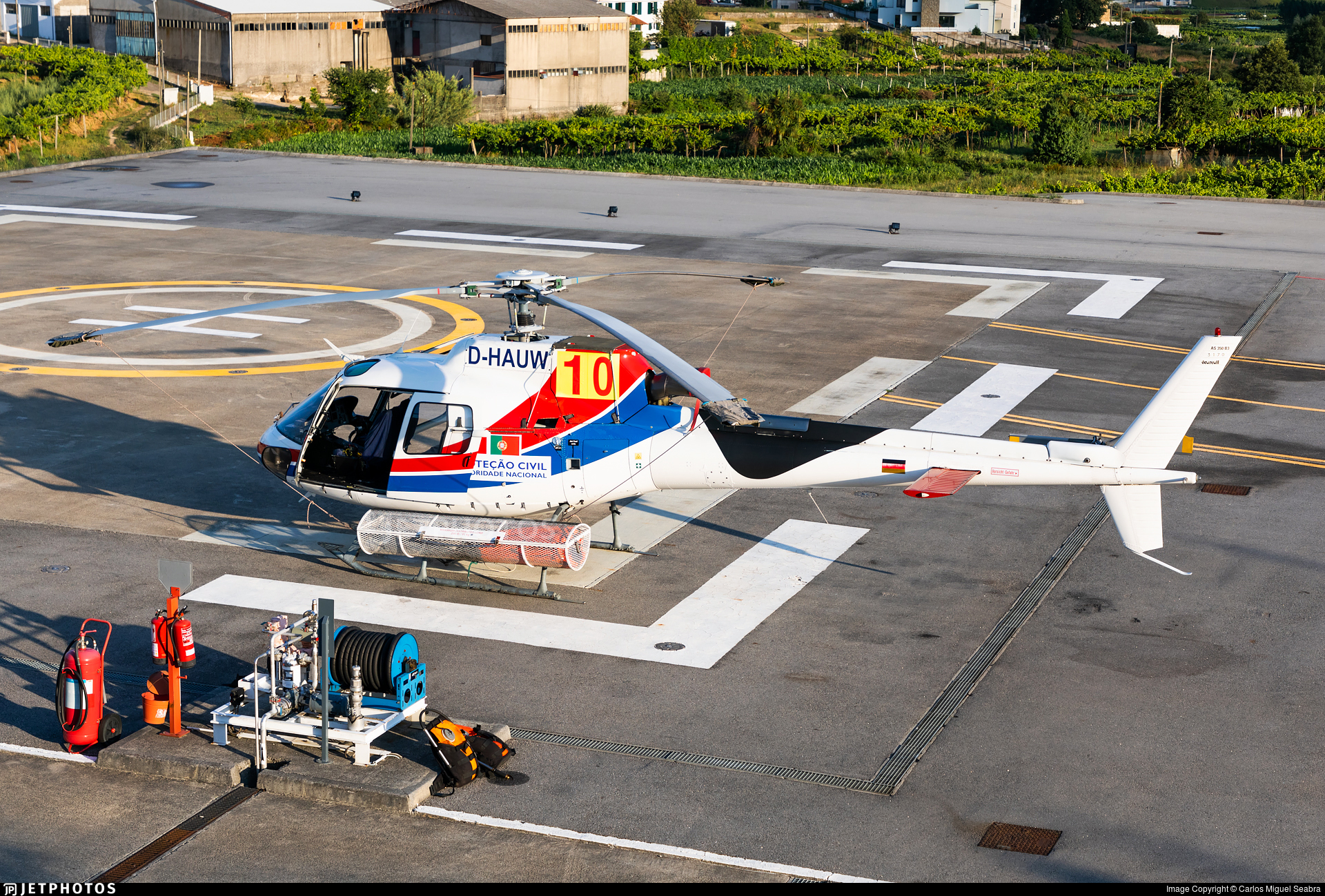D-HAUW - Eurocopter AS 350B3 Ecureuil - Private