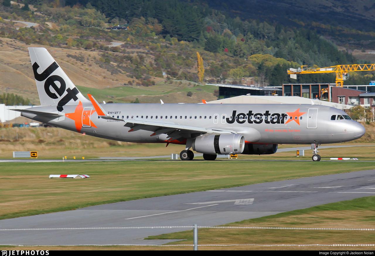 VH-VFT - Airbus A320-232 - Jetstar Airways