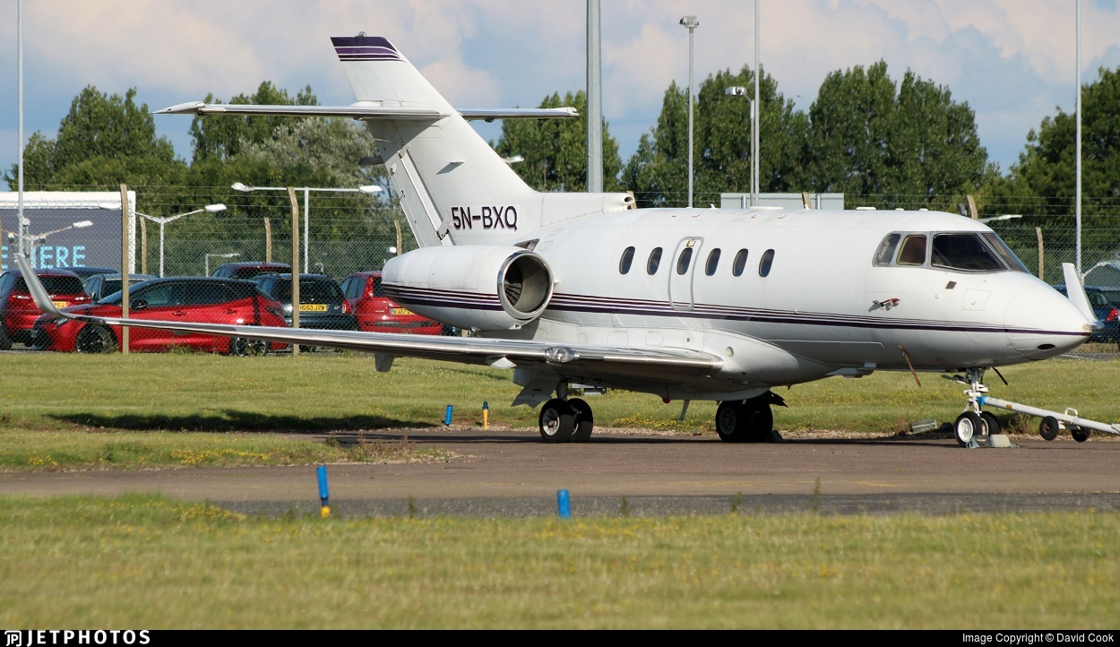 5N-BXQ - Raytheon Hawker 800XP - Private