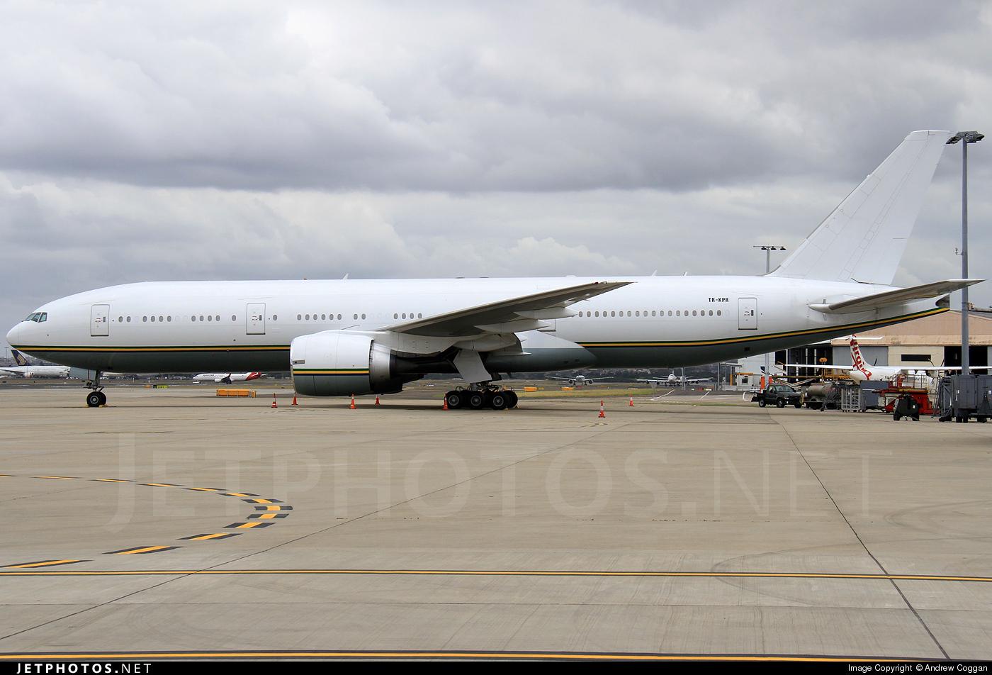 TR-KPR - Boeing 777-236 - Gabon - Government