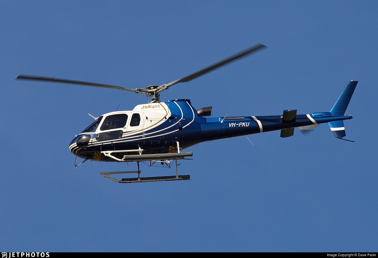 VH-PKU - Eurocopter AS 350B3 Ecureuil - Heli Spirit